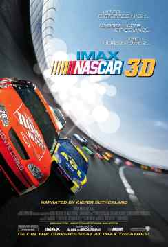 IMAX NASCAR 3D Onesheet - 72 dpi