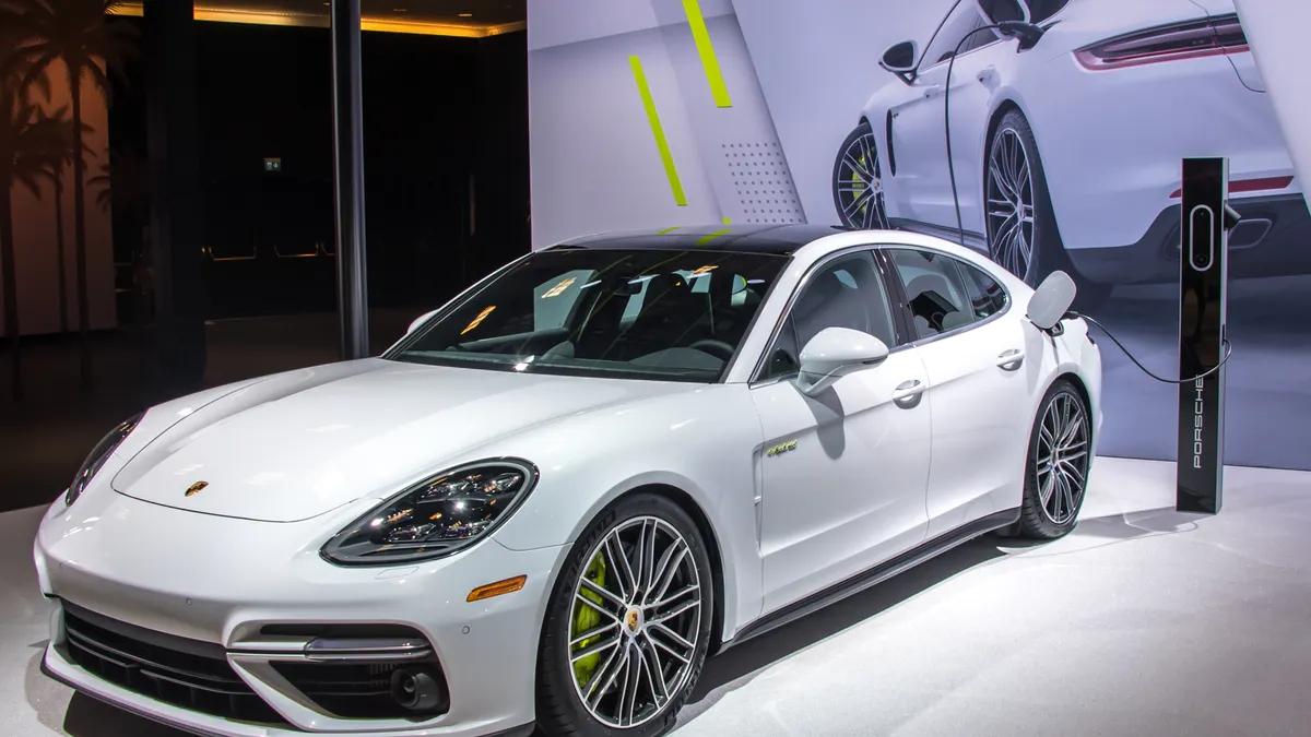 Porsche Panamera E-Hybrid plug-in hybrid