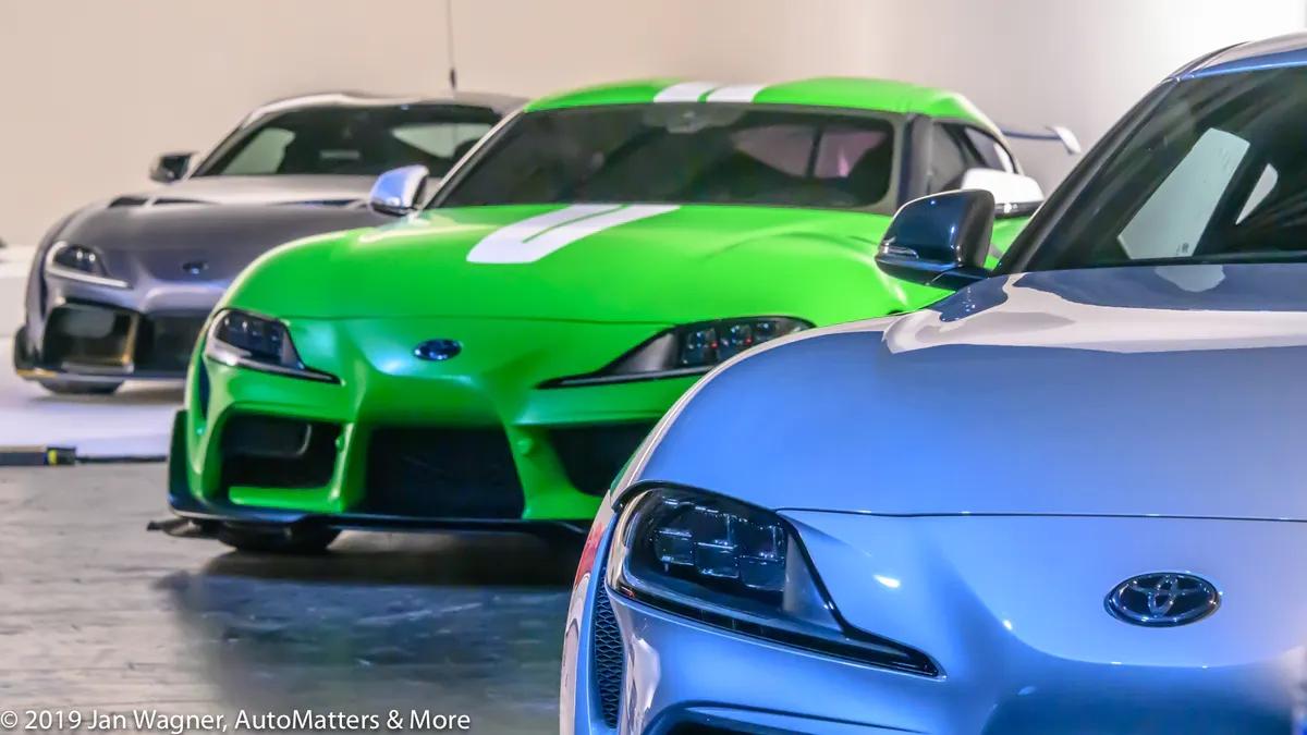 Toyota GR Supras at the Long Beach SEMA Show sneak peek