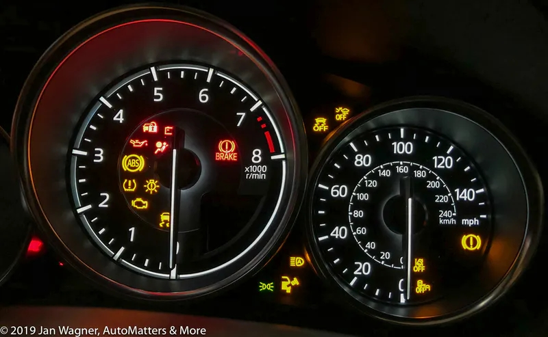 Modern cars have many warning and indicator lights that drivers must be aware of.