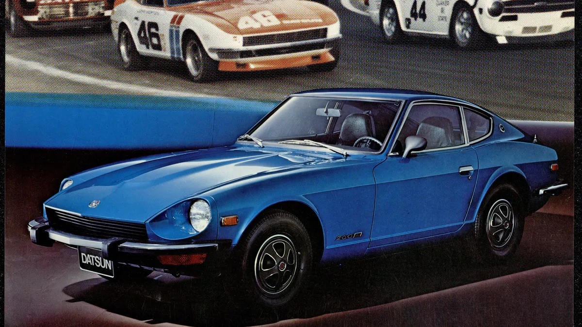 """<span class=""""image-caption"""">Datsun 240Z for the street & track (photo from """"Nissan Z: 50 Years of Exhilarating Performance"""" by Pete Evanow)</span>"""